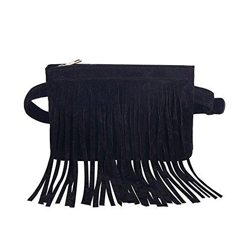 JUMENG Popular Waist Bag for Women Shopping Tassel Belt Christmas Present