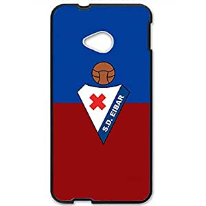 Sociedad Deportiva Eibar Logo Phone Case for Htc one m7 3D Hard Black Plastic Cover