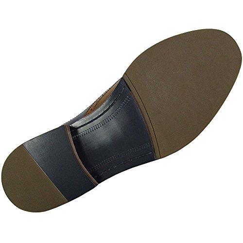 Steve Madden Mens Brymm Wingtip Two Tone Oxford Shoes Tan / Blue