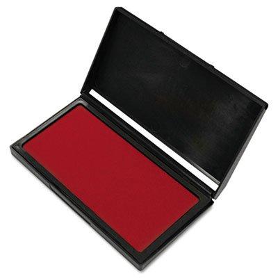 - 2000 PLUS Stamp Pad, Gel, Size #1, Red Ink (030254)