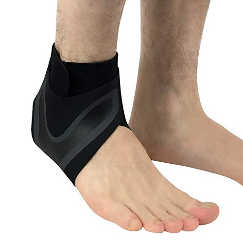 TH-OUTSE Ankle Support Socks Men Women Lightweight Breathable Compression Anti Sprain Sleeve Heel Cover Protective Wrap Left/Right Feet