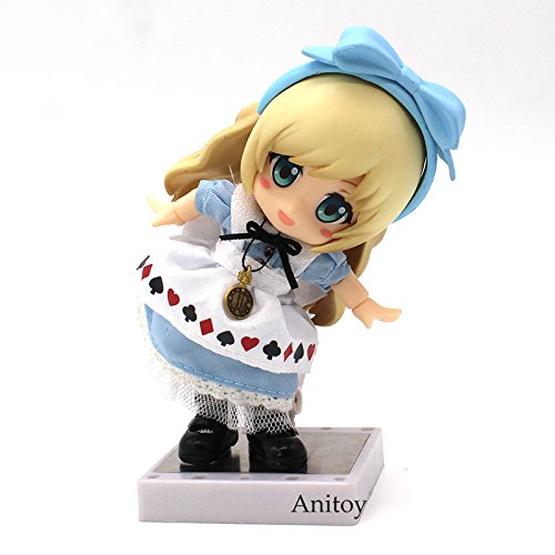 Alice in Wonderland Alice Nendoroid 1/10 scale painted figure Real Clothes PVC Action Figure Collectible Model Toy 10cm KT3811