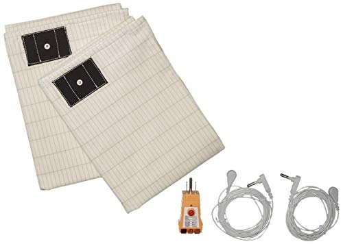 (Earthing Grounding Queen Pillow Cases with outlet TESTER. Eco-Friendly Set of 2 pillow cases 20