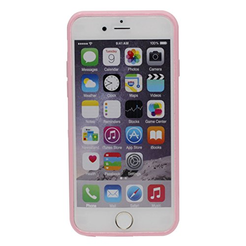 "iPhone 6 Plus Hülle 5.5"", Original Eis / Spiegel Entwurf Transparent Flexibel Schutzhülle Cover Case Für iPhone 6S Plus"