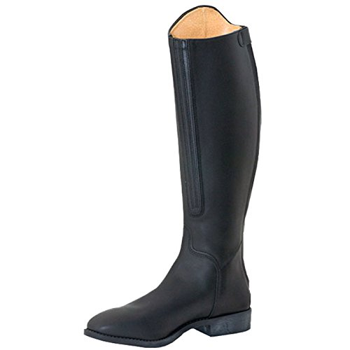 leather youth Cavallo riding LS boots Junior kids schwarz EzEnxwT5