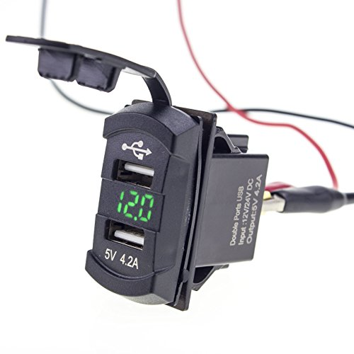 Eriding Rocker Voltage Monitor Battery product image