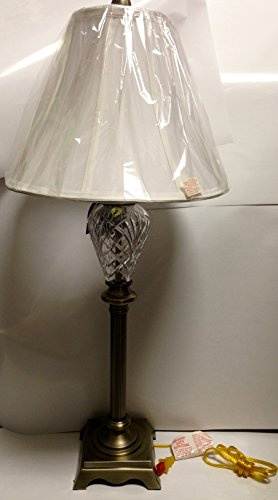 Waterford Lighting Marlow Buffet Lamp, Antique Brass and Lamp (Waterford Lamp Shades)