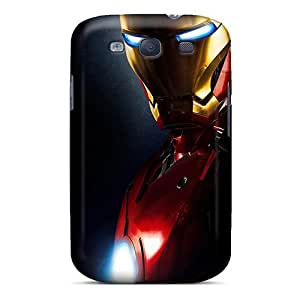 New Cute Funny Ironman Case Cover/ Galaxy S3 Case Cover