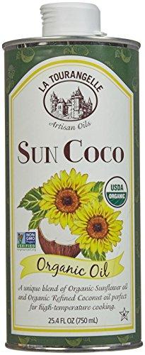La Tourangelle Organic SunCoco Oil, 25.4 oz, Green