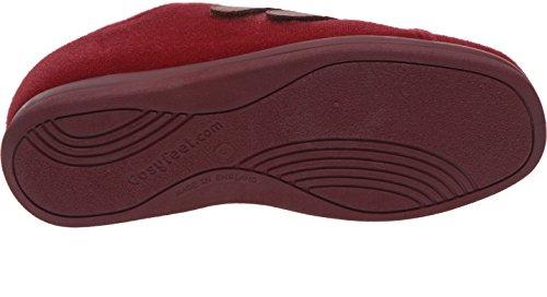 Cosyfeet Amelia Shoes - Extra Roomy (Eeeee+ Width Fitting) Burgundy Trilobal w2i5SVoFV
