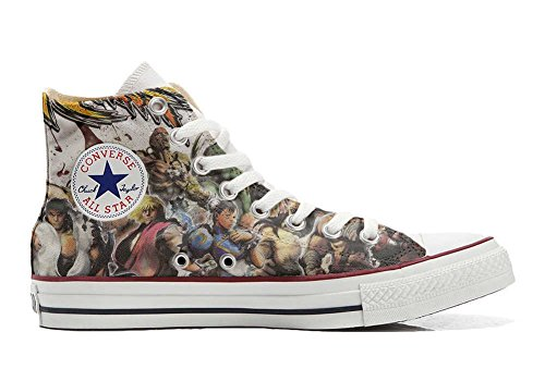Schuhe Converse The All Schuhe personalisierte Star fighters Hi Handwerk Customized ccWr41
