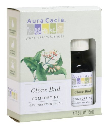 Price comparison product image Aura Cacia Essential Oil,  Comforting Clove Bud,  0.5 fluid ounce by Aura Cacia