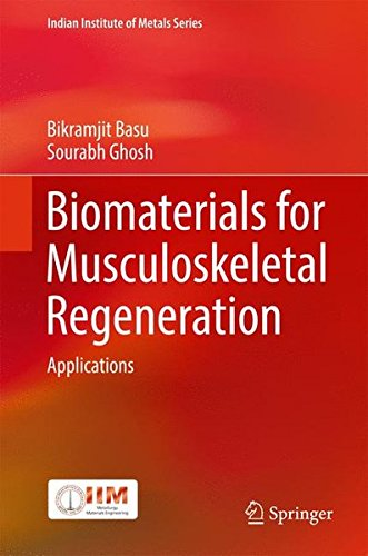 Biomaterials for Musculoskeletal Regeneration: Applications (Indian Institute of Metals Series)
