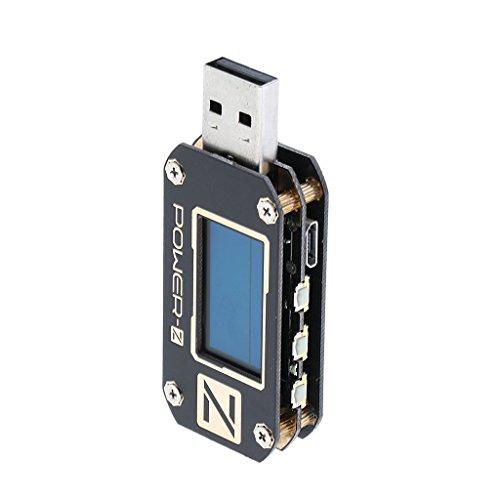 Baoblaze USB Power Meter Tester Digital Multimeter USB Load Current Tester Voltage Detector 2.0/3.0 QC by Baoblaze