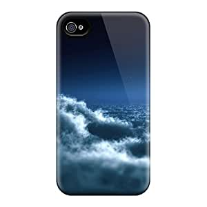 For Iphone 6 Fashion Design Moon Above Clouds Cases-LgX16077yiRZ