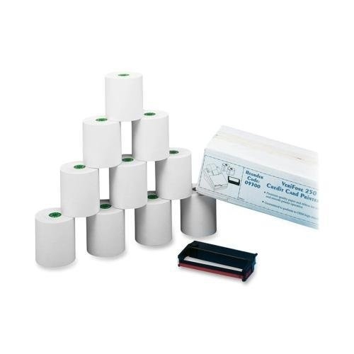 Debit Kit Verification - 09300 PM 09300 Credit/Debit Verification Kit For Verifone 250 and 500 Printers - White - Dot Matrix - 1 / Carton