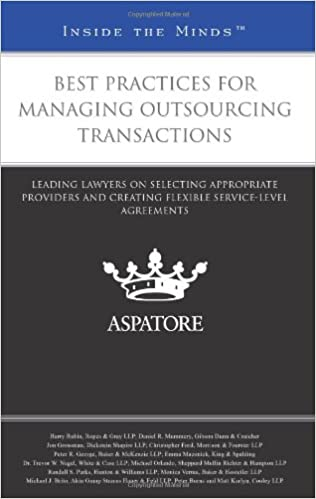 Best Practices for Managing Outsourcing Transactions: Leading
