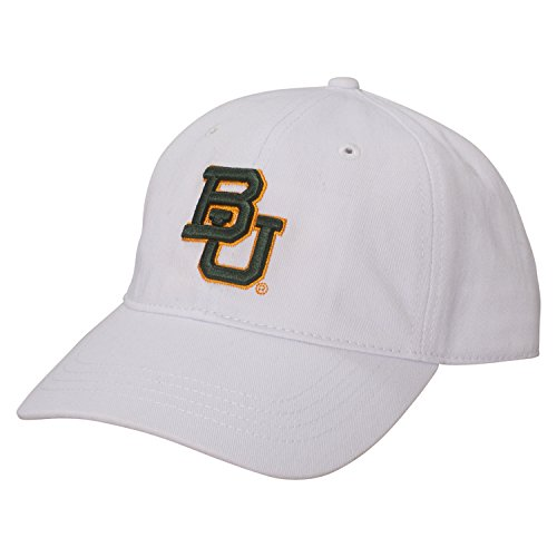 A Baylor Bears Small Fit Epic Cap, Adjustable Size, White ()