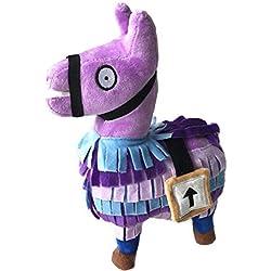 Sinfu 2018 Hot For Fortnite Loot Llama Plush Toy Figure Doll Soft Stuffed Animal Toys (Size: 25cm, A)