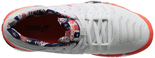 Asics Gel-Resolution 7 Limited Edition London - Scarpe Tennis Donna - Womens Tennis Shoes (EU 39.5)