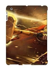 New Xwjokj-3841-emhugga Hammer Blow Lightning Meteors Warrior Skin Case Cover Shatterproof Case For Ipad 2/3/4