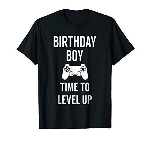 Birthday Boy Video Game Birthday Party Tshirt -