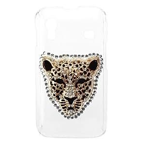 ZCL-Caso duro del patrón del leopardo con el Rhinestone para Samsung Galaxy Ace S5830