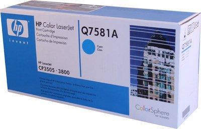 Colorsphere Smart Print Cartridge (Hp 503a Government Color Lj 3800/Cp3505 Colorsphere Smart Print Cartridge Cyan 6000 Yield)