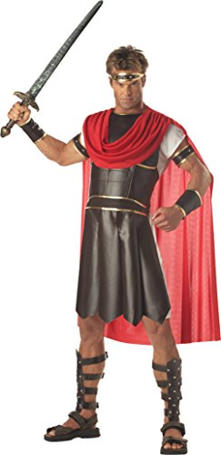 Roman Soldier Adult Mens Plus Size Costumes (California Costumes Mens Roman Soldier Hercules Theme Party Fancy Dress, Medium (40-42))
