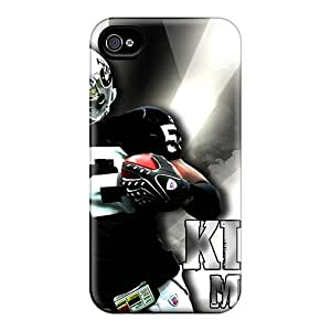 Iphone 4/4s YtH16366msPg Provide Private Custom Realistic Oakland Raiders Pictures Shock-Absorbing Hard Cell-phone Cases -KerryParsons