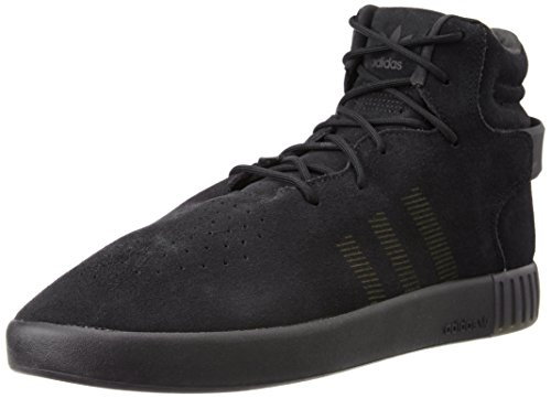 Grey Invader Men's adidas Strap Trainers Black Tubular qp1awaZ