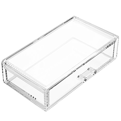 Weiai Square Acrylic Storage Lip Case Cosmetic Box Makeup Organizer C80 Clear (Acrylic Boxes compare prices)