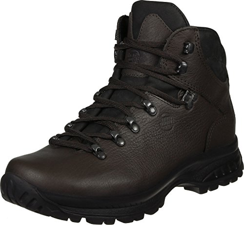 Hanwag Waxenstein Bio, Zapatos de High Rise Senderismo para Hombre Mocca