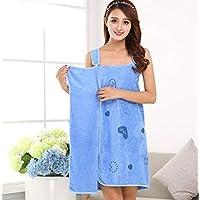 JRM's Microfiber Soft Bath Towel Fashion Women Wearable Quick Dry Magic Bathing Beach Spa Bathrobes Wash Clothing Beach Dresses