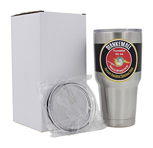 Diankemall 30 Oz Stainless Steel Tumbler | Travel Cup | Mug, Double Wall, Vacuum Insulated | 2 Splash Proof Lids ( 1 Standard, 1 Sliding) (Walmart Round Glass Table Top)