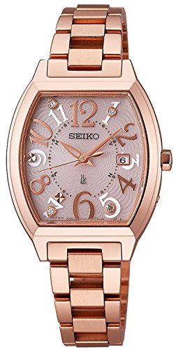 SEIKO watch LUKIA Rukia Solar radio Modify sapphire glass super clear coating SSVW050 Ladies