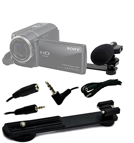 Vivitar Mic403 Mini Zoom Camcorder Microphone with 6 feet Ex