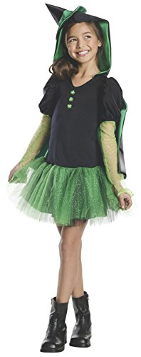 Rubies Wizard of Oz Wicked Witch of The West Hoodie Dress Costume, Child (Kids Wizard Outfit)
