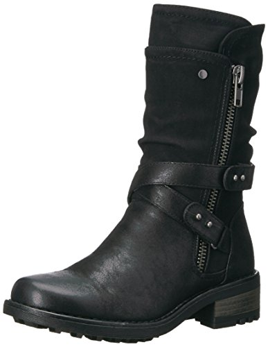 Carlos by Carlos Santana Women's Sawyer Fashion Boot, Black, 7 M M US from Carlos by Carlos Santana