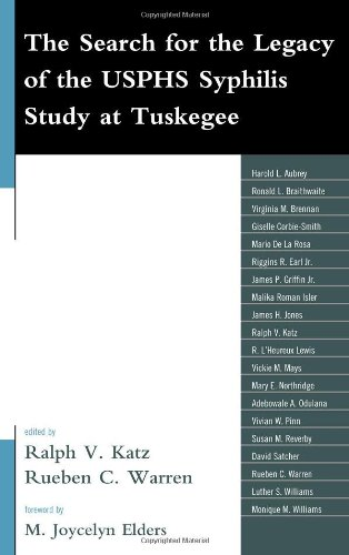 The Search for the Legacy of the USPHS Syphilis Study at Tuskegee: Reflective Essays Based upon Findings from the Tuskeg