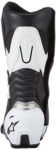 Alpinestars White Boots Black SMX Black S Mens Street Motorcycle White 43 rwp6rqAT