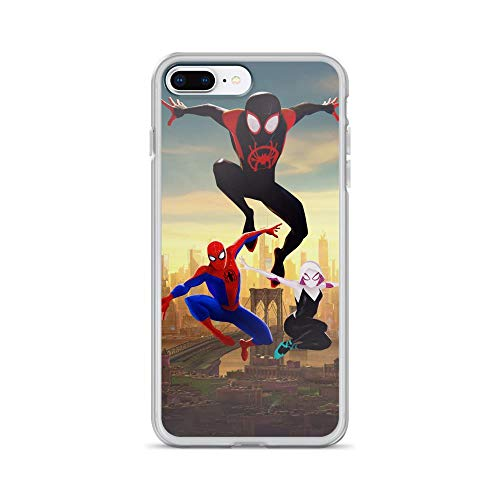 iPhone 7 Plus/8 Plus Pure Clear Case Cases Cover Superhero Funny Comic