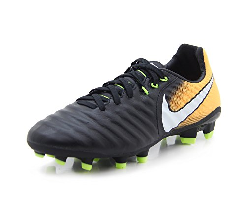 Nike JR Mercurial Vortex III FG Football Boots - Purple Dynasty (4.5 Big Kid M, Black/Yellow)