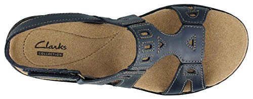 Picture of CLARKS Women's Leisa Annual, Navy, 8 M US