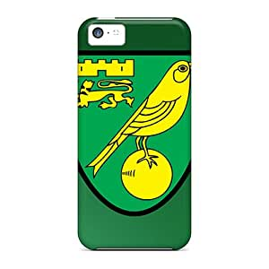 Special AmyJoHalum Skin Case Cover For Iphone 5c, Popular Famous Football Club Norwich Phone Case
