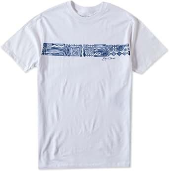 O'Neill Mens Jack O'Neill Molokai Short-Sleeve Shirt, White, Small