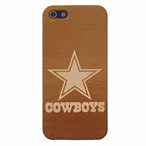 TOPPEST Designed NFL iPhone 5/5s Hard Case Dallas Cowboys team logo
