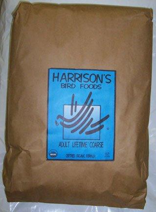 Harrison's Organic Adult Lifetime Coarse 25 Lbs.