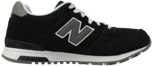New Balance Mens Lifestyle Mode De Vie Suede Trainers Black/grey/white