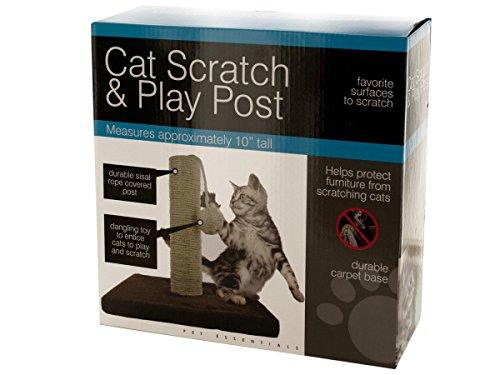 Bulk Buys Fun Interactive Play Cat Scratch & Play Post ()